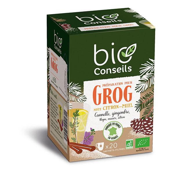 Bio Conseils - Infusion Préparation pour Grog x 20 sachets-filtres