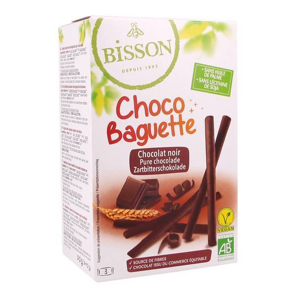 Bisson - Choco baguette 120g
