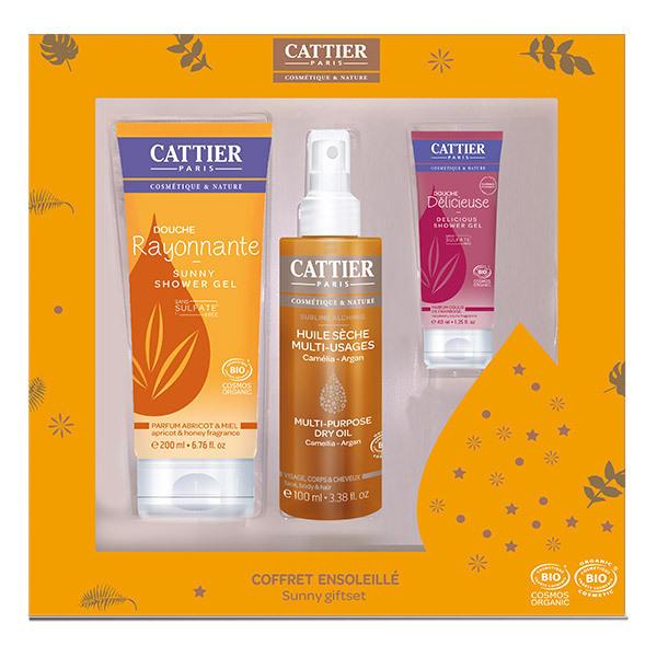 Cattier - Coffret ensoleillé soins du corps