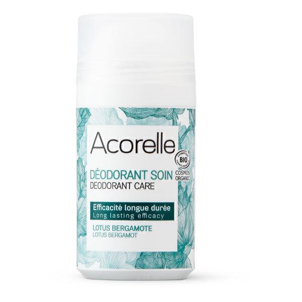 Acorelle - Deodorant longue duree, lotus bergamote 50ml