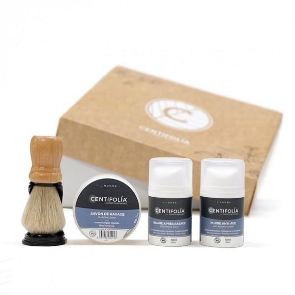 Centifolia - Coffret rasage et soin homme
