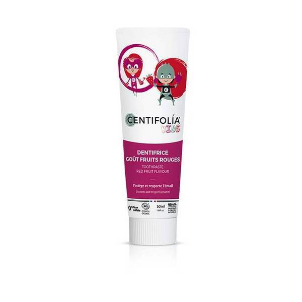 Centifolia - Dentifrice Enfant Fruits rouges 50ml