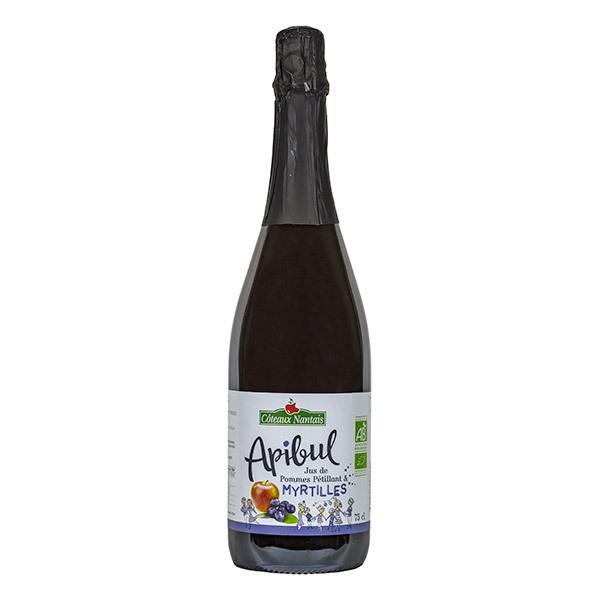 Côteaux Nantais - Apibul pommes myrtilles Bio