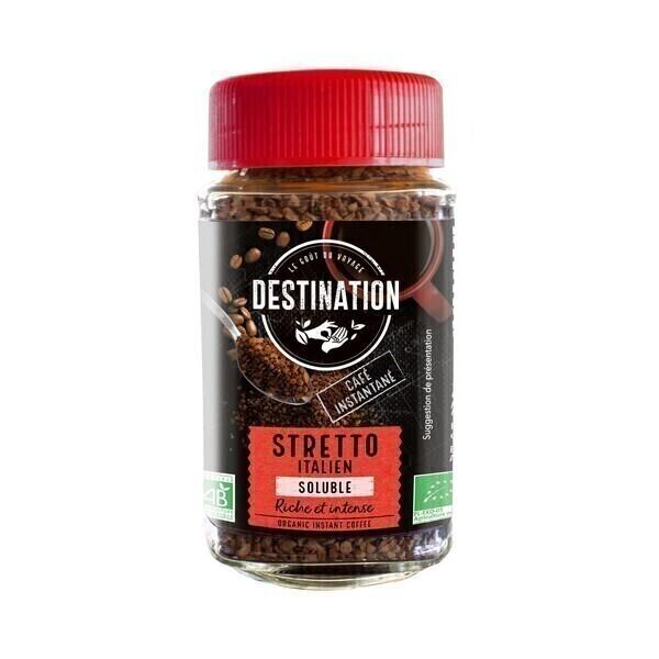 Destination - Stretto italien soluble 100g