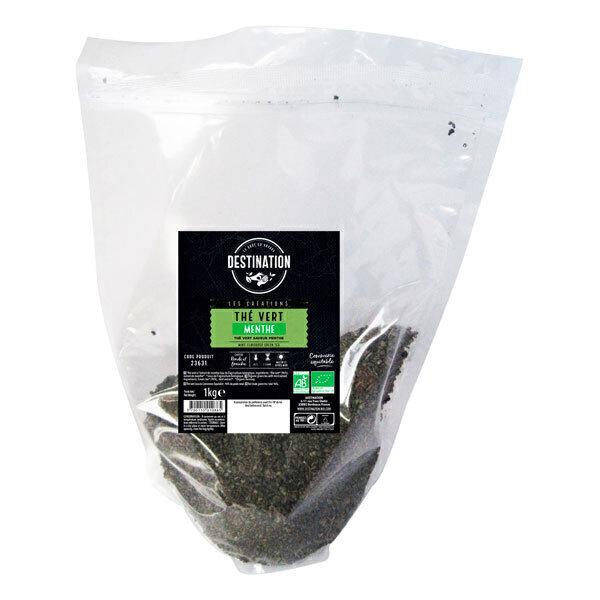 Destination - Thé vert à la menthe 1kg
