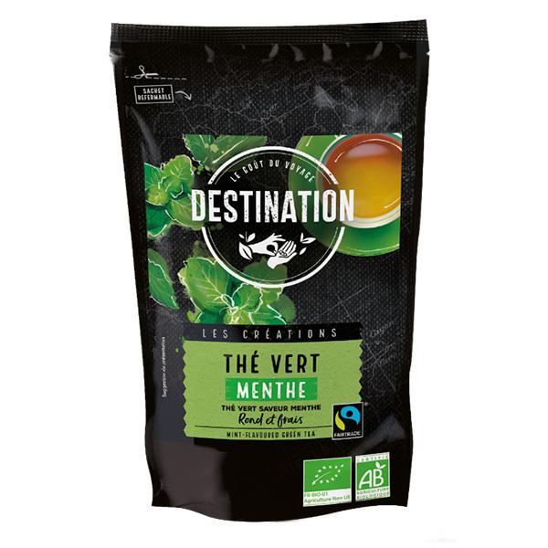 Destination - Thé vert à la menthe 200g