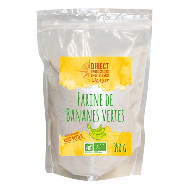 Direct producteurs Fruits secs - Farine de bananes vertes 350g