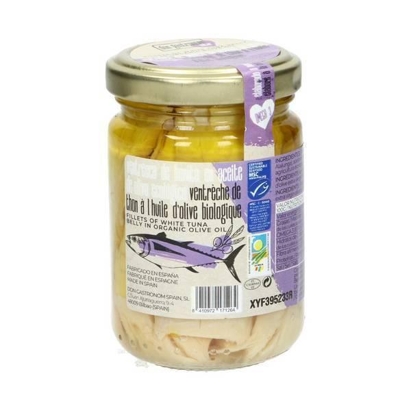 Don gastronom - Ventrèches de thon MSC Huile d'olive 145g