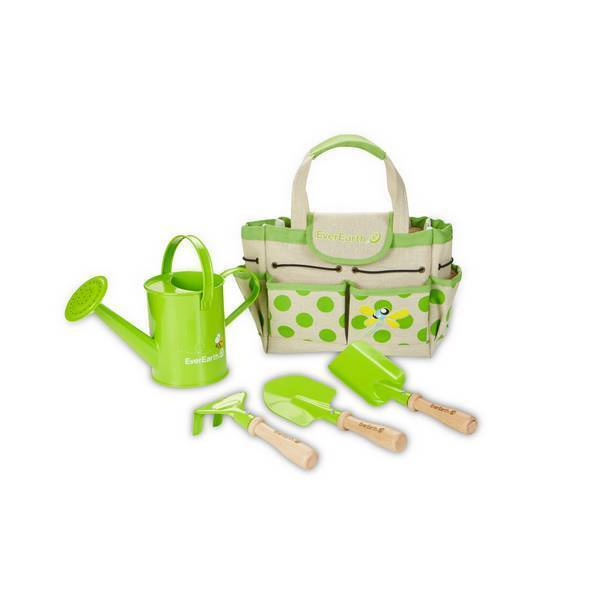 EverEarth - Set de jardinage avec sac et outils - Dès 36 mois