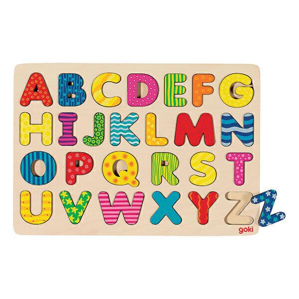 Goki - Alphabet puzzle - Dès 3 ans