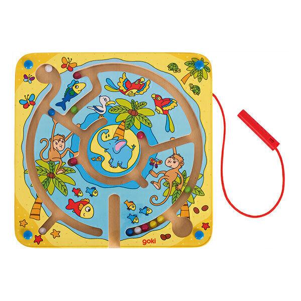 Goki - Labyrinthe magnétique: l'île aux animaux - Dès 3 ans