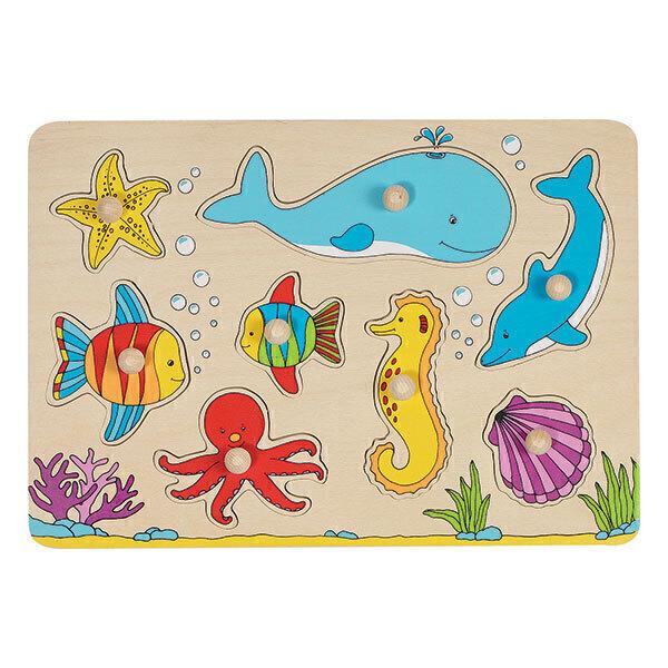Goki - Puzzle le monde sous-marin - Dès 1 an