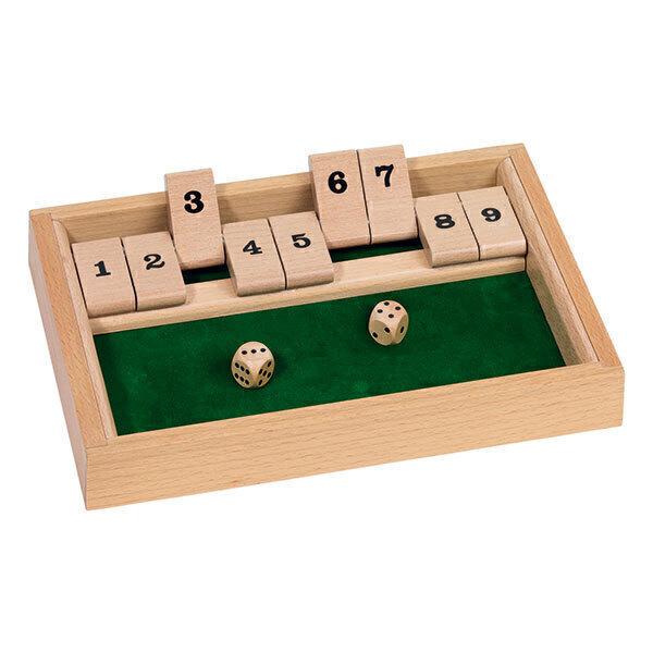 Goki - Shut the box Jeu de dés - Dès 6 ans