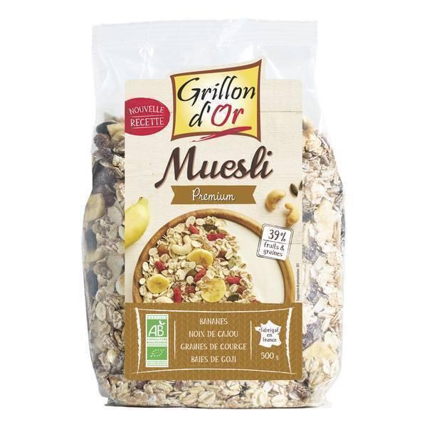 Grillon d'or - Muesli Premium 500g