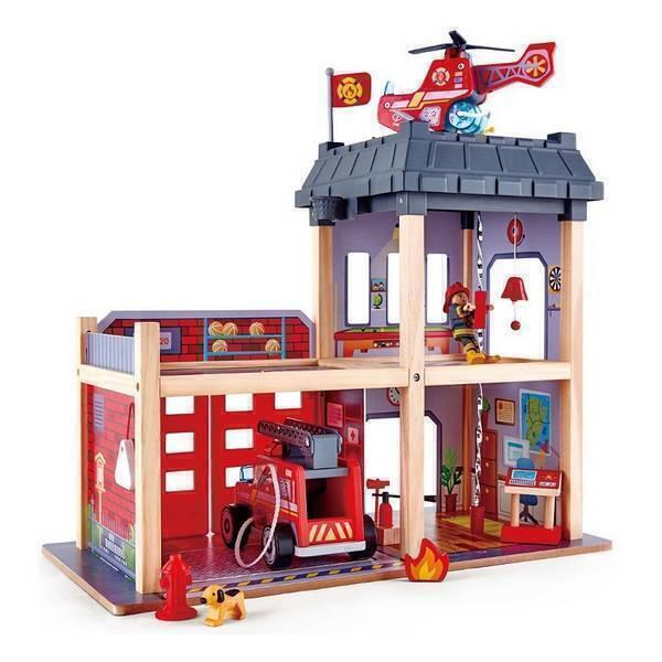 Hape - Grande caserne de pompier - Dès 3 ans