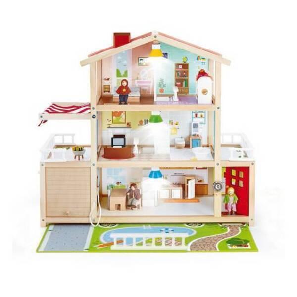 Hape - Grande maison de poupées - Dès 3 ans