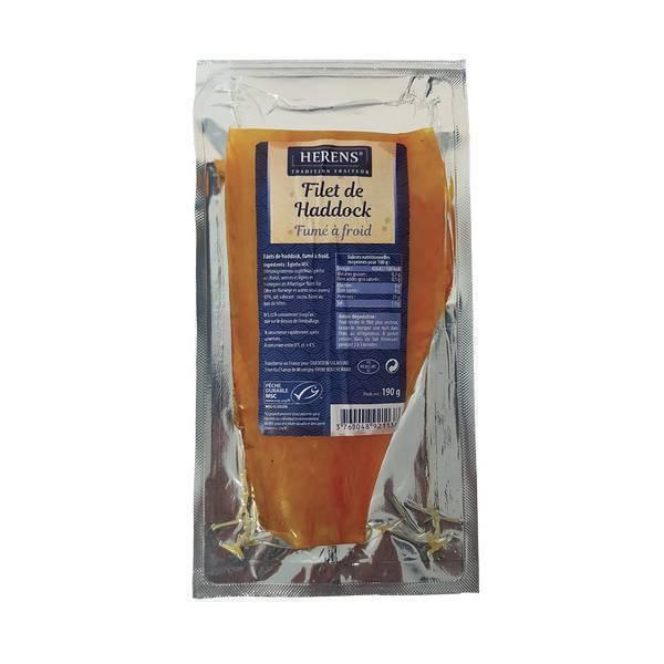 Herens - Filet de haddock fumé 190g