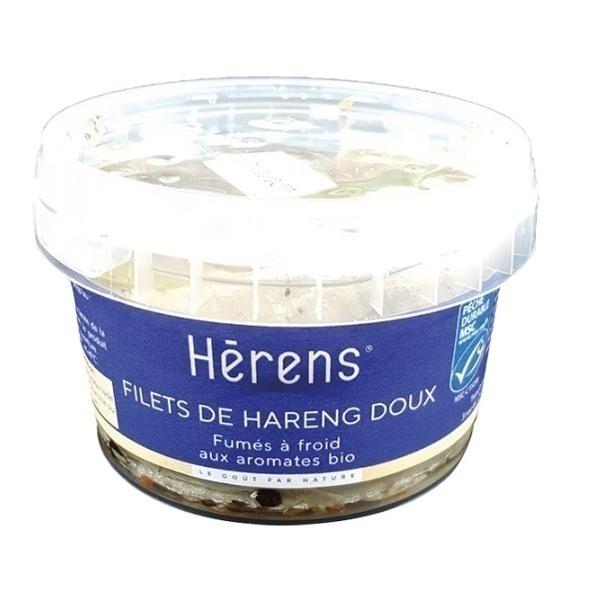 Herens - Filet de hareng doux fumé huile et aromates 180g