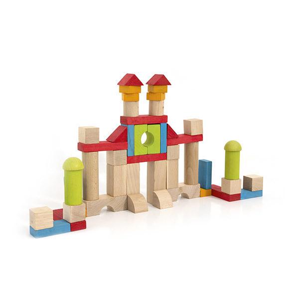 Jeujura - Blocs de construction 52 pièces - Dès 18 mois