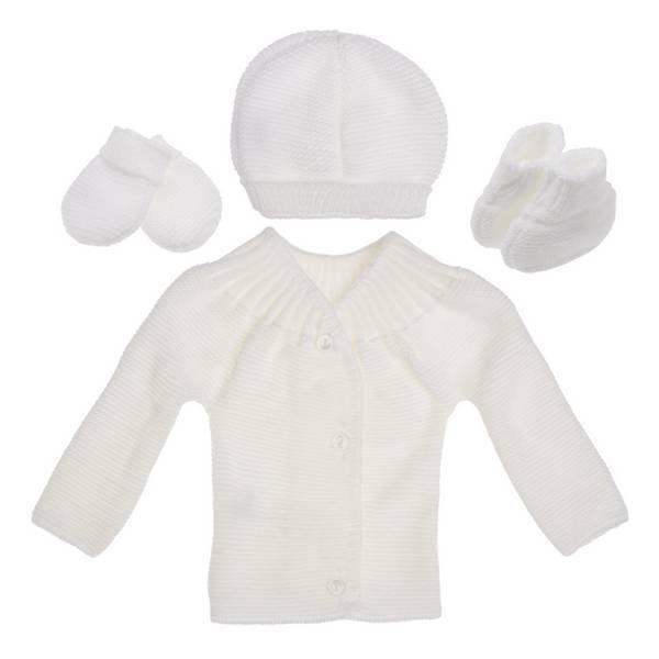 La Manufacture de Layette - Trousseau de naissance - Blanc - 0-1 mois