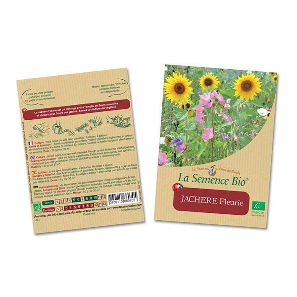 La Semence Bio - Lot de 2 sachets de Graines de Jachère fleurie