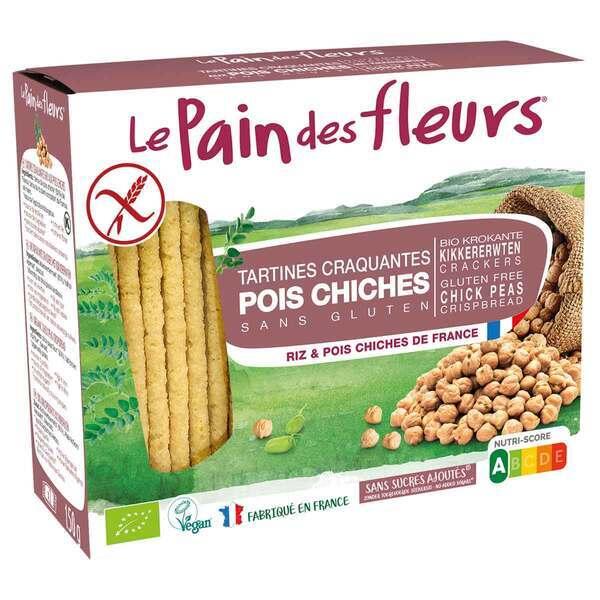 Le pain des fleurs - Tartines craquantes au pois chiche 150g