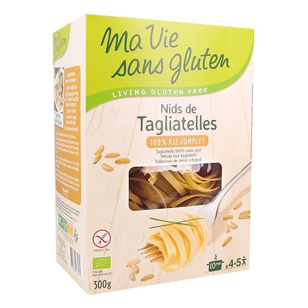 Ma Vie Sans Gluten - Nids Tagliatelles au Riz complet 300g
