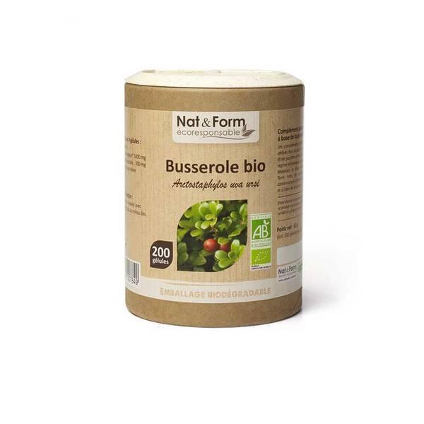 Nat & Form - Busserole bio x 200 gélules