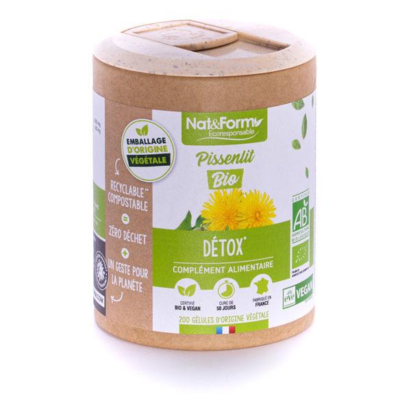 Nat & Form - Pissenlit bio x 200 gélules