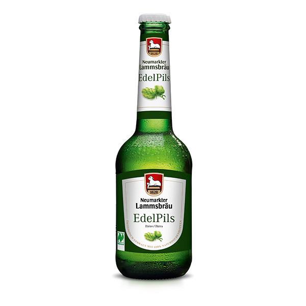Brasserie Neumarkter Lammsbräu - Bière Edel Pils bio 33cl