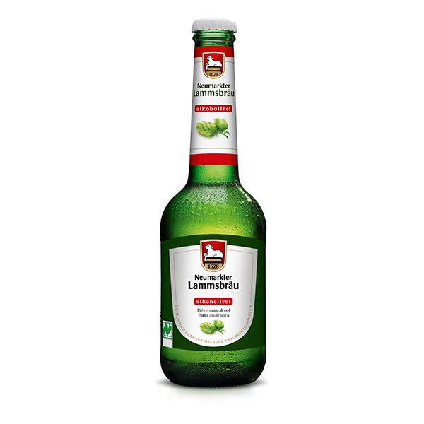 Brasserie Neumarkter Lammsbräu - Bière sans alcool Bio 0.5% 33cl