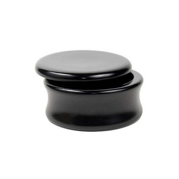 Parker - Bol à raser en bois Noir