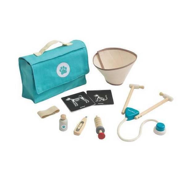 Plan Toys - Ma valise de vétérinaire - Dès 3 ans