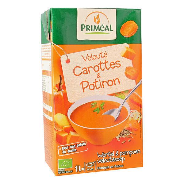 Priméal - Velouté potiron et carottes 1l