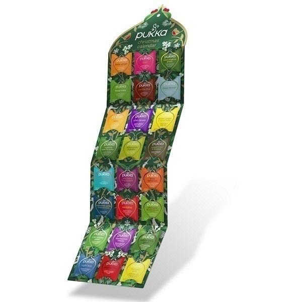 Pukka - Calendrier de l'Avent thés et infusions 24 sachets