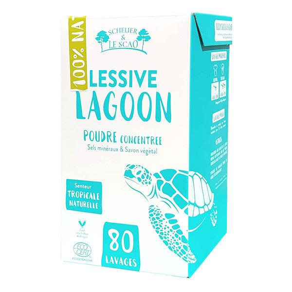 Scheuer & Le Scao - Lessive en poudre Lagoon 1,7kg