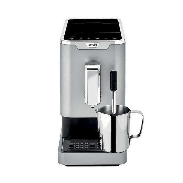 Scott - Machine à café Slimissimo & Milk avec buse vapeur