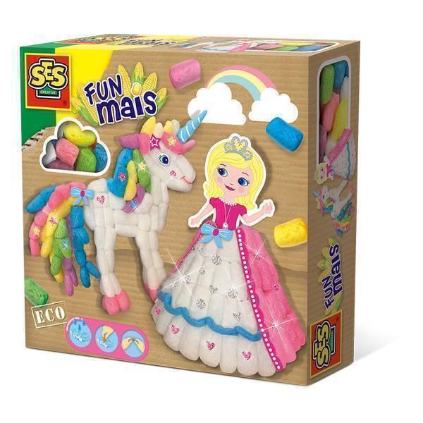 SES Creative - Funmais Princesse et licorne - Dès 3 ans