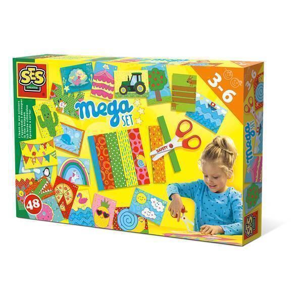 SES Creative - Méga Kit J'apprends à découper - Dès 3 ans