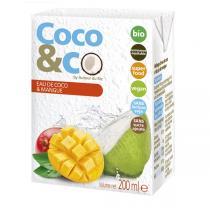 Autour du Riz - Eau de coco et jus de mangue - 200 mL