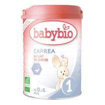 Babybio - Lot de 6 x Capréa 1er Age au Lait de Chèvre Bio - 6 x 900g