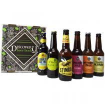 Sélection vins et apéritifs Bio - Box 6 Bières Bio du Royaume Uni