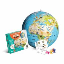 Caly - Globe gonflable 42 cm Mission Animaux - Dès 6 ans