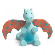 Tikiri - Hochet caoutchouc Dragon de Soleil 16 cm