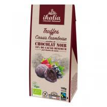 Ikalia - Truffes cassis-framboise vegan 100g