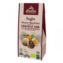 Ikalia - Truffes passion-mandarine vegan 100g