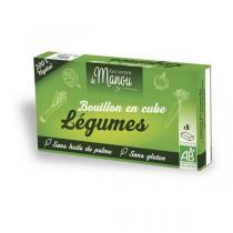 Les Secrets de Manou - Bouillons cubes légumes 6 cubes 66g