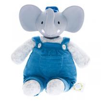 Meiya & Alvin - Peluche caoutchouc Alvin l'éléphant