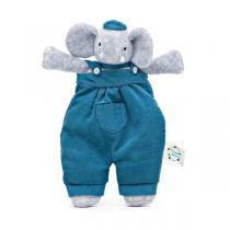 Meiya & Alvin - Peluche snuggly Alvin l'éléphant