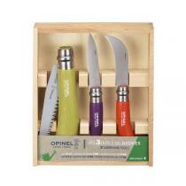 Opinel - Coffret Les 3 outils du jardinier